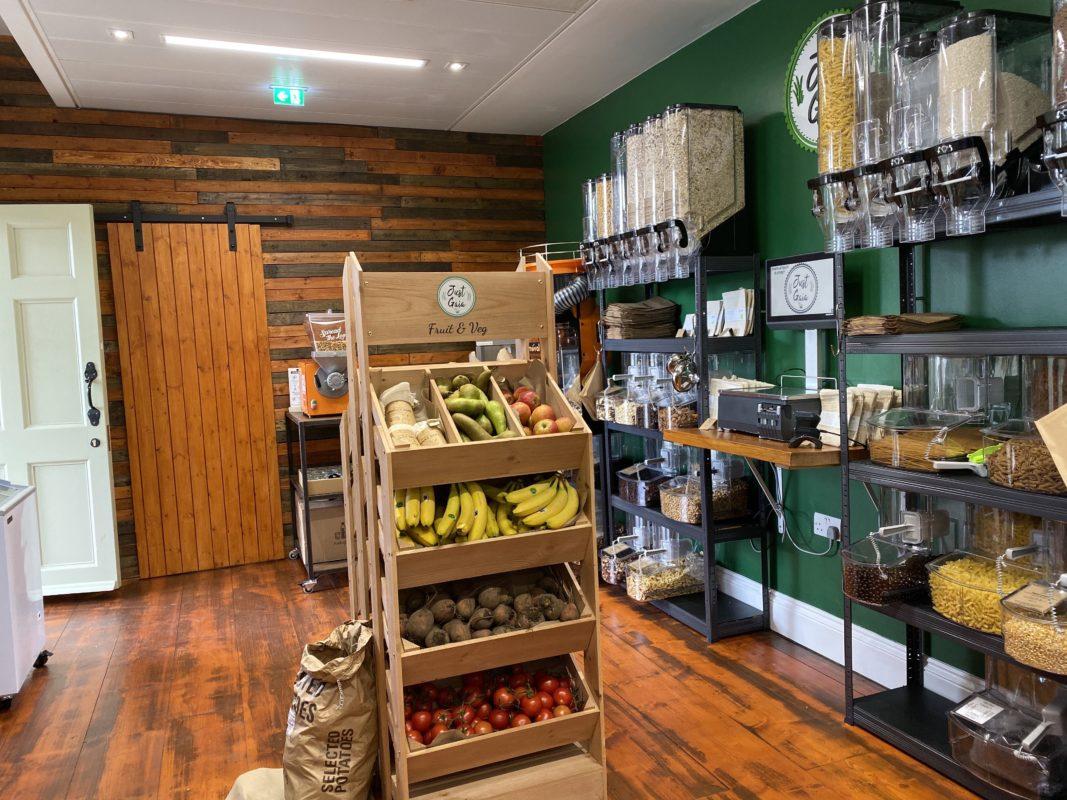 Just Gaia Plastic Free shop - shop floor image